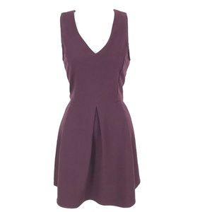 NEW One Clothing fit & flare burgundy dress mini